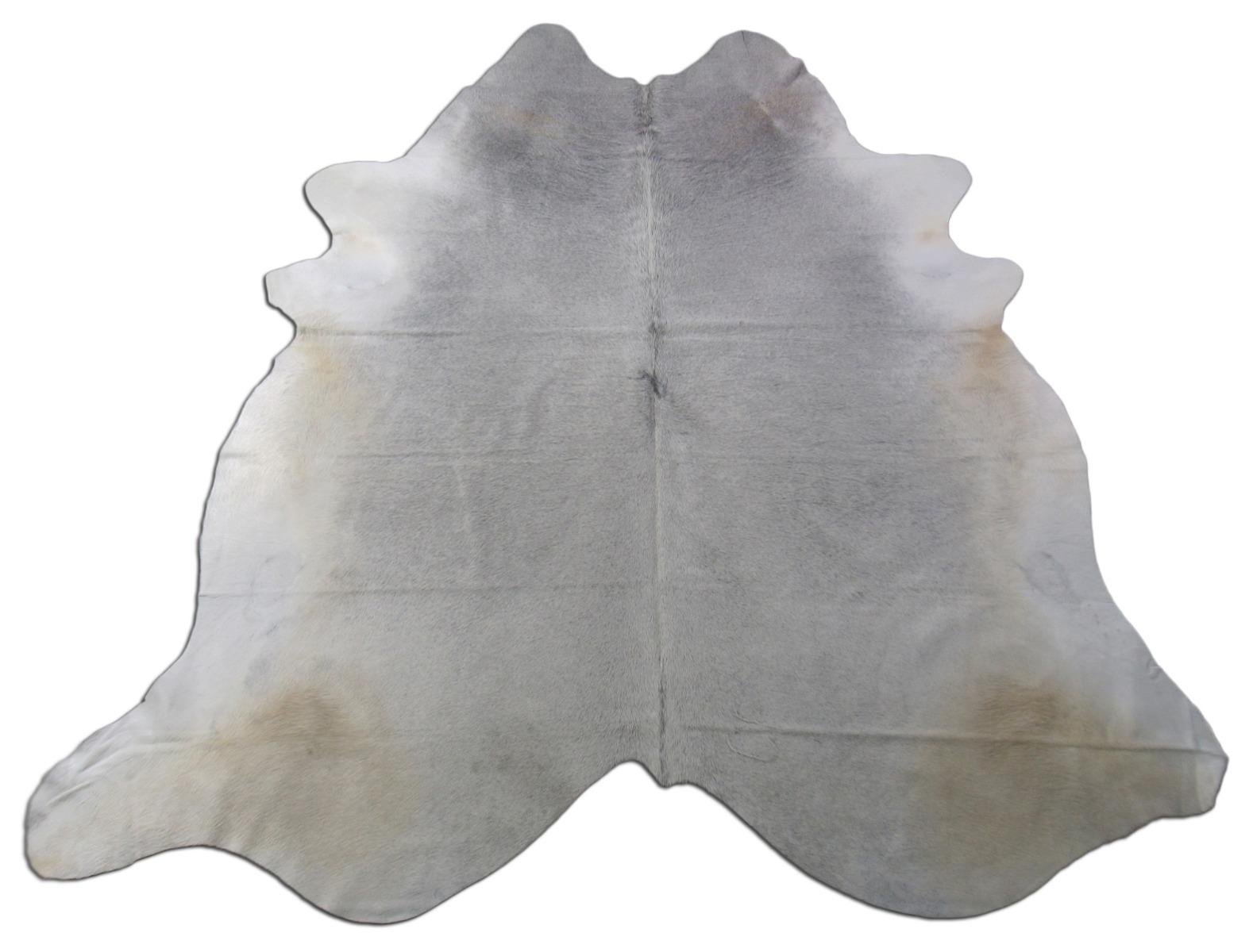 A-1435 Grey Cowhide Rug Size: 8' X 7' *HUGE*