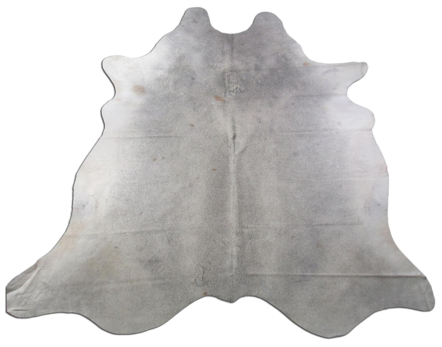 A-1453 Grey Cowhide Rug Size: 8' X 7'