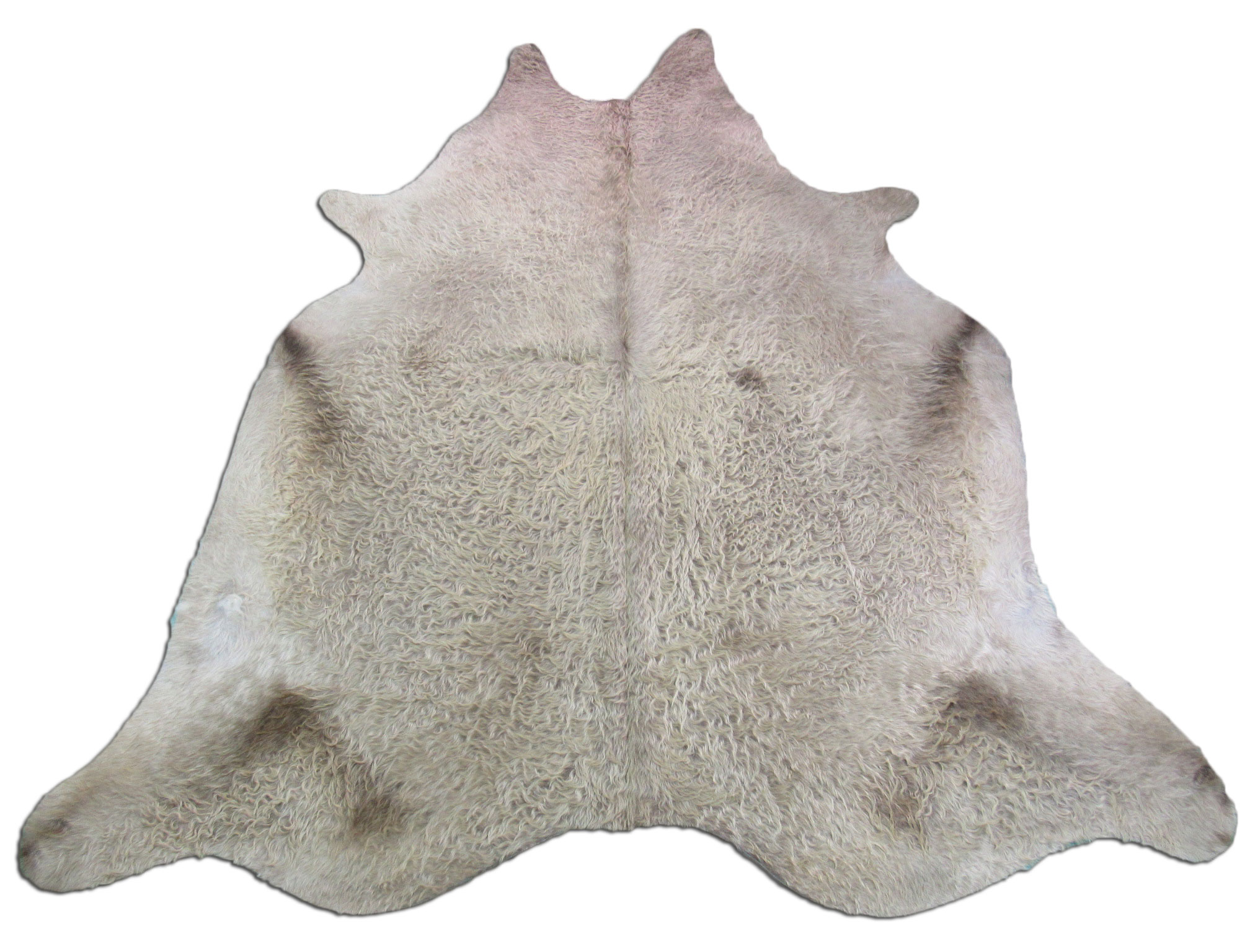 A-967 Taupe/Caramel Cowhide Rug Size: 8' X 7'
