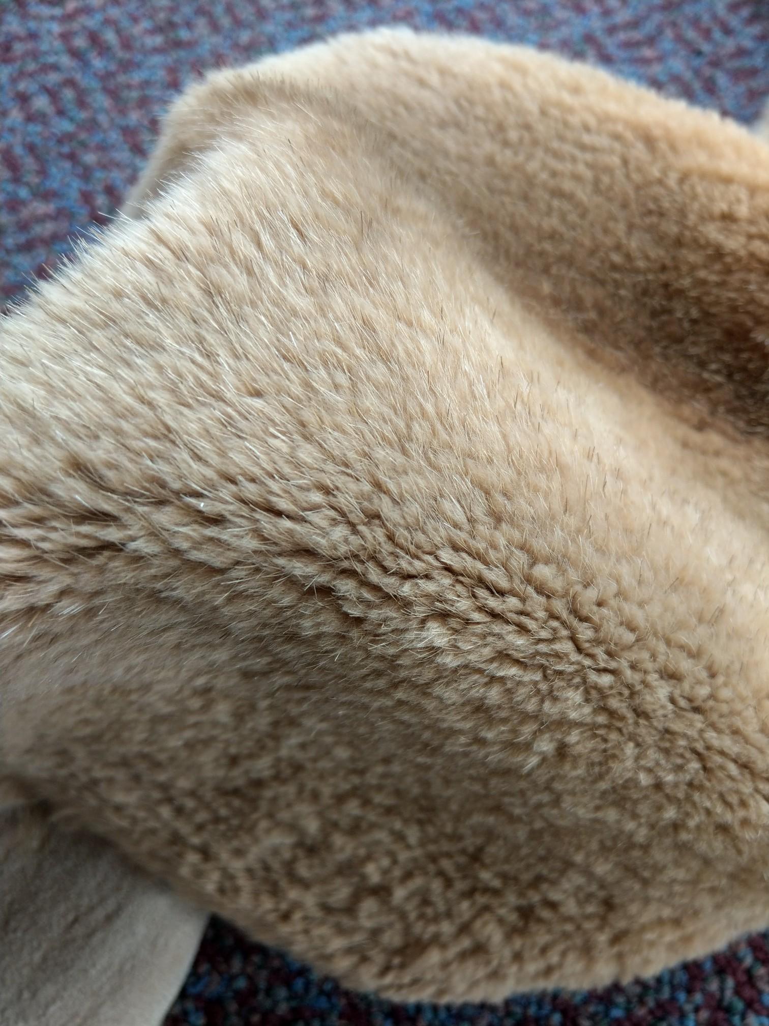 "Natural Nutria Pelt Soft Tanned Nutria Pelt Skin Size: 23"" X 14"""