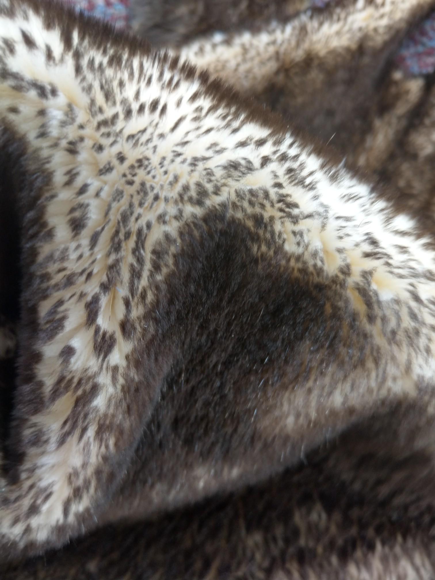 "Dyed Black Nutria Pelt Soft Tanned Nutria Pelt Skin Size: 23"" X 13"""