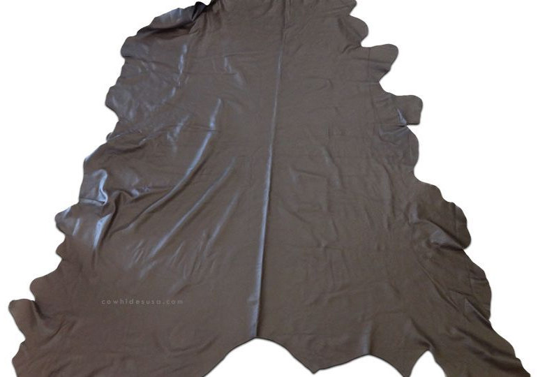 Leather Cowhide Rug Size: 8' X 8' HUGE A-10x